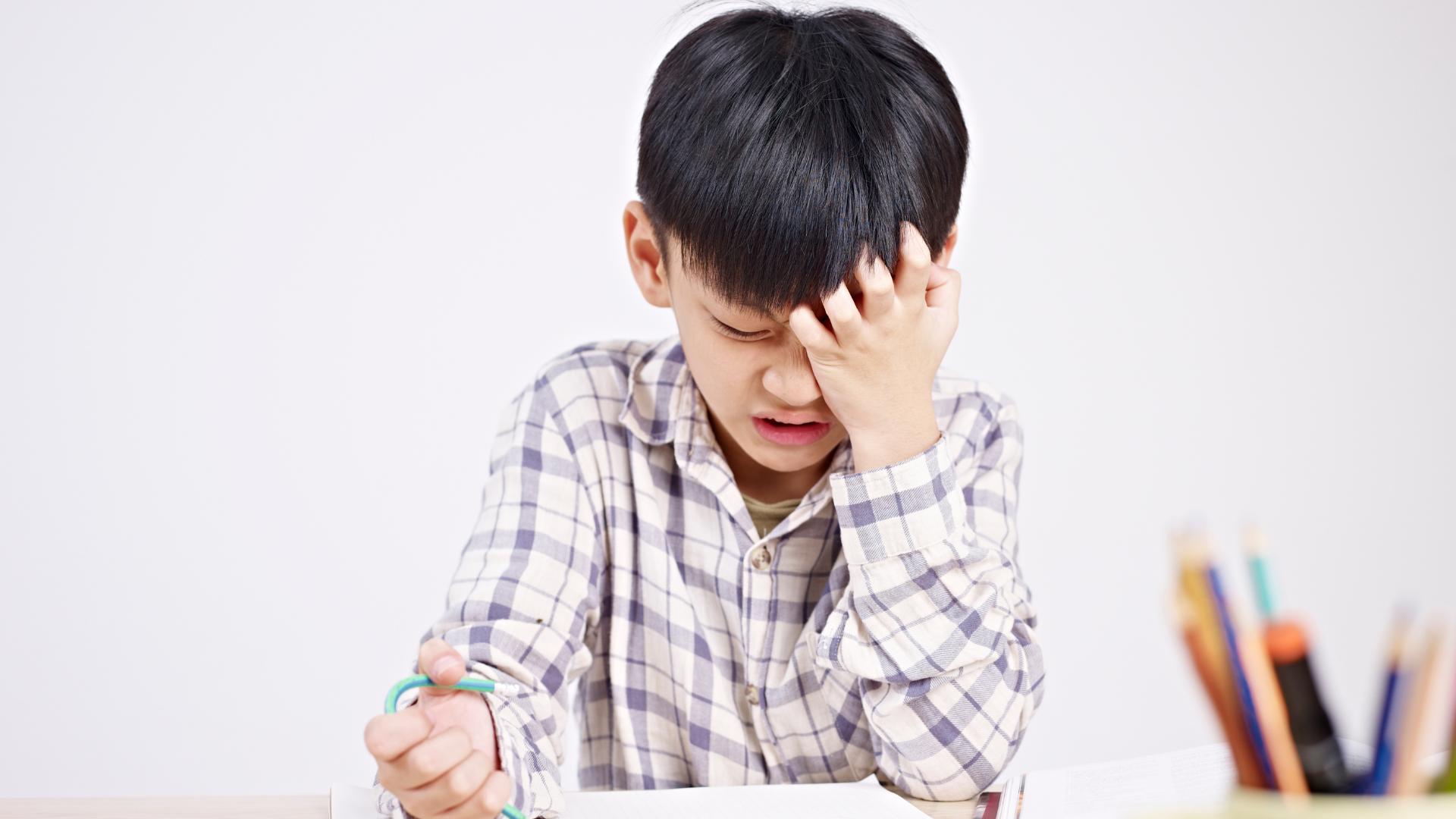 孩子讀書壓力大8